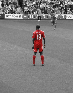 Ryan Babel must deliver for Liverpool Saturday; Photo by Tom Parl