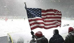 USA winter_FansFlag